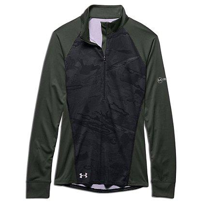Under Armour Women's Freedom Tech 1/2 Zip Jacket, Black