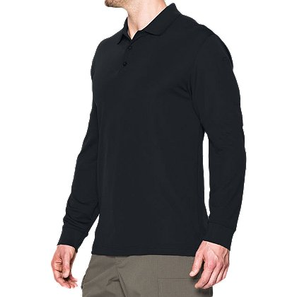 Under Armour: Men's TAC Performance Long Sleeve Polo