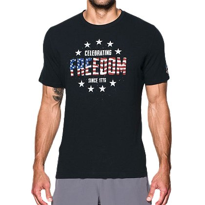 Under Armour Short-Sleeve Freedom Independence Tee