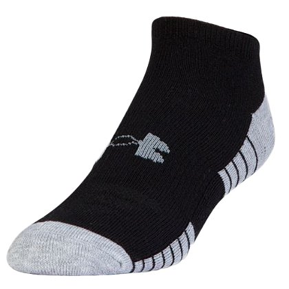 Under Armour HeatGear Tech No Show Socks, 3 pk