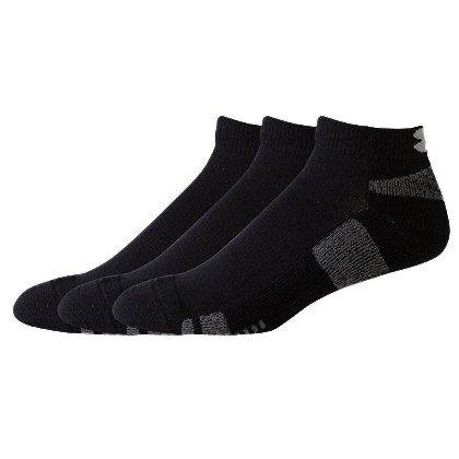Under Armour HeatGear Tech Low Cut Socks, 3-pk