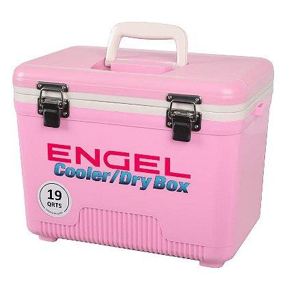 Engel: 19 Quart Pink Cooler/Dry Box
