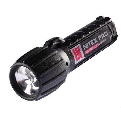 Underwater Kinetics Nitex Pro eLED� Rechargeable Class 1 Div 2 Flashlight, 90 Lumens
