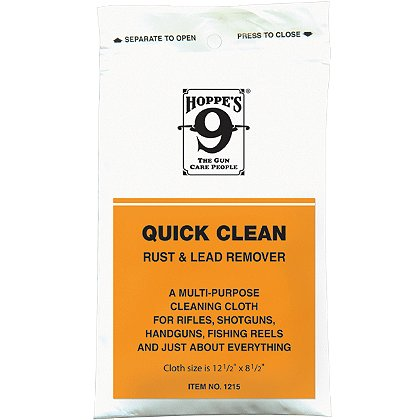 Hoppe's: Quick clean rust & lead remover cloth