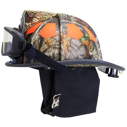 Bullard USTM Traditional Fire Helmet, Forest Camo