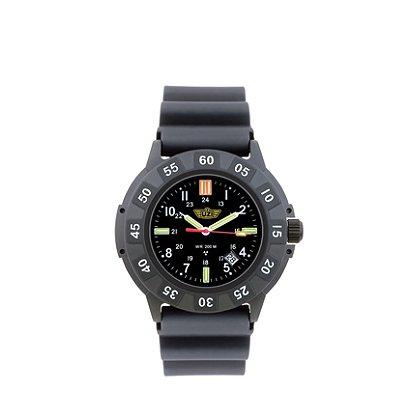 Uzi Protector Tritium Watch Black Face