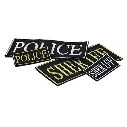 Voodoo Tactical: Law Enforcement ID Patch, 2