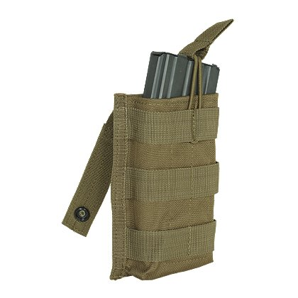 Voodoo Tactical:  M4/M16 Single Open Top Mag Pouch with Bungee System