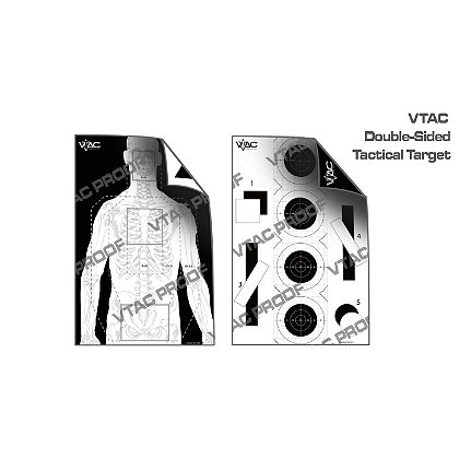 Viking Tactics Double Sided Tactical Target