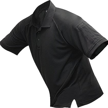 Vertx: Men's Coldblack Short Sleeve Polo