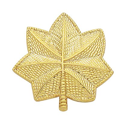 Smith & Warren Pair of Large Oak Leaf Collar Pins