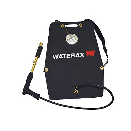 WATERAX: HPO-2X, Rubber BackPack w/ Brass Pump