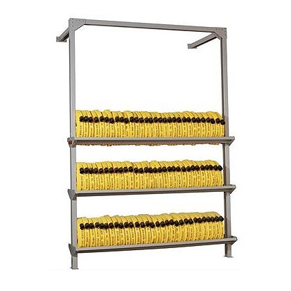 Circul-Air Stationary Rak for Hose Storage 3 Tier