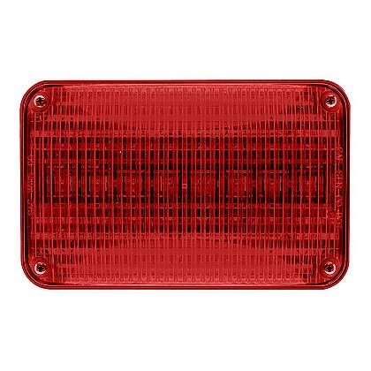 Whelen 600 Series Super LED Lighthead, Red LED/Red Lens