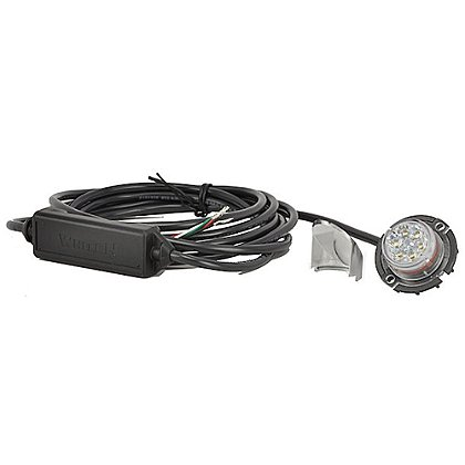 Whelen Vertex Super-LED Light with Side Emitting Shield and 9-Foot Cable