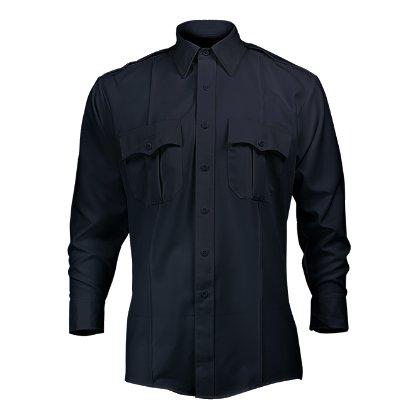 Elbeco Tex-Trop Zipper Front Long Sleeve Shirt