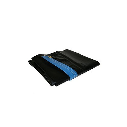 Zico: 4020 Quic-Cover Runner 4.5 oz., 3' x 18', Blue over Black