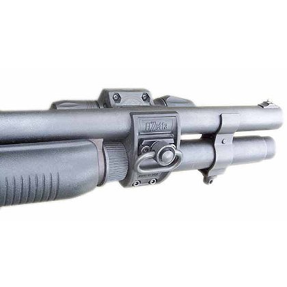Elzetta: Shotgun Flashlight Mount for Tactical Shotguns
