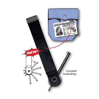 Zak Tool Tactical Pocket Clip w/ Handcuff Key