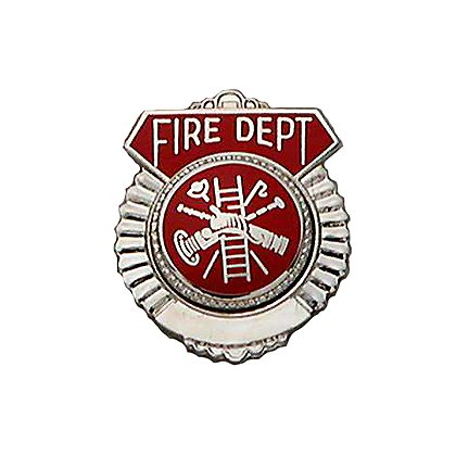 Smith & Warren Tie Tac, Fire Dept w/Firefighter Scramble