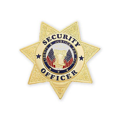 Smith & Warren Stock Badge, Security Officer