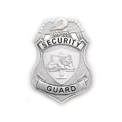 Smith & Warren Stock Badge, Security Guard
