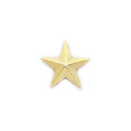 Smith & Warren Collar Pins, 1 Star, Pair