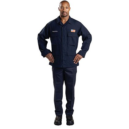 LION StationWear BDU Attack Pants, Nomex IIIA Twill, Navy