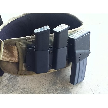 WARFYTR: 9/40/357 Double Mag Pouch