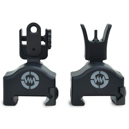WM Tactical TUOR MKII Multi-Axis Back-Up Iron Sights