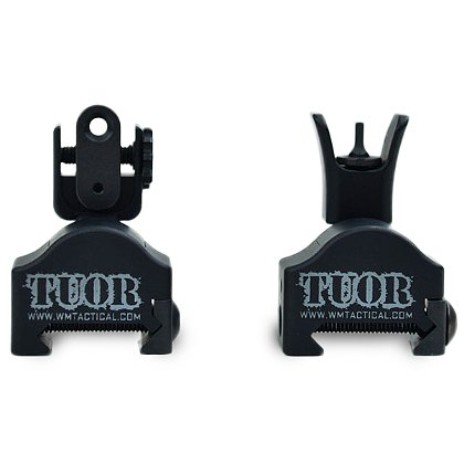 WM Tactical: TUOR MKI Multi-Axis Back-Up Iron Sights