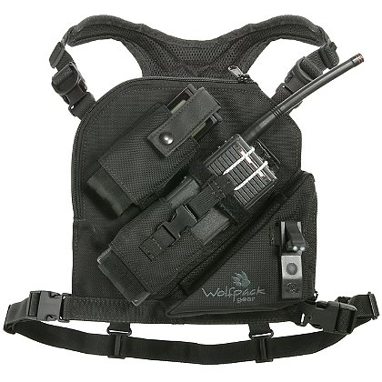 Wolfpack Gear Carbon Series Phantom Jr. Radio Chest Harness