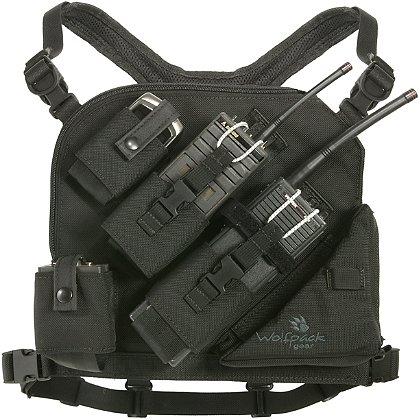 Wolfpack Gear Carbon Series Phantom Radio Chest Harness