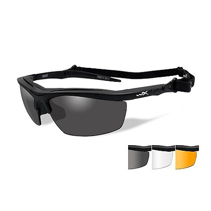 Wiley X Guard Eyewear Kit with Three Lenses