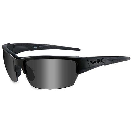 Wiley X Saint Black Ops Sunglasses, Smoke Grey Lens, Matte Black Frame