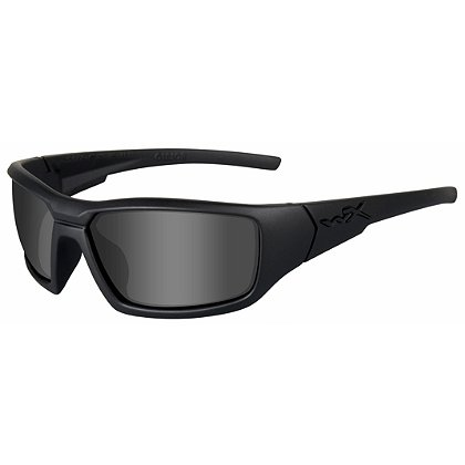 Wiley X Censor Black Ops Sunglasses, Smoke Grey Lens, Matte Black Frame