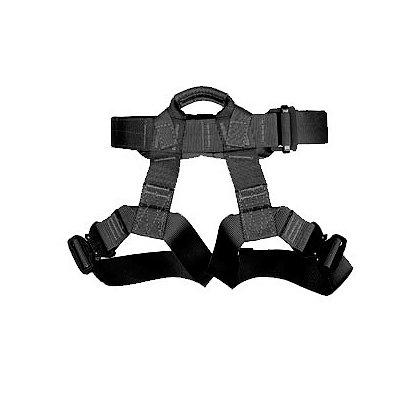 Yates Gear Tactical Class II Rappel Harness, Black