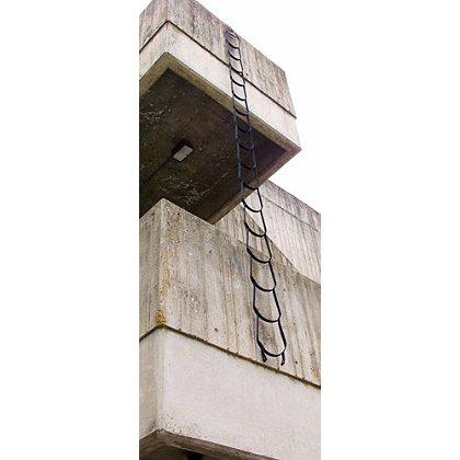 Yates Gear 20 ft. Rescue/Urban Assault Ladder, Black