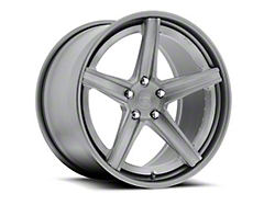 Niche Apex Machined Silver Wheel - 20x8.5 (2015 All)