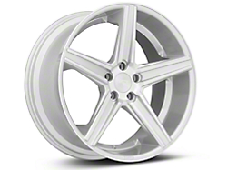 Niche Apex Machined Silver Wheel - 20x10 (2015 All)