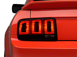 Tail Light Conversion Decal Kit - Matte Black (05-09 All)