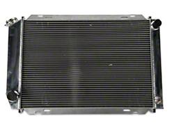 SR Performance Aluminum Radiator - Manual (79-93 5.0L)