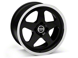 SC Style Black Wheel - 17x9 (87-93; Excludes 93 Cobra)
