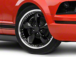Bullitt Motorsport Black Wheel - 20x8.5 (05-14 V6; 05-10 GT)