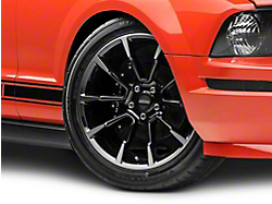 2011 GT/CS Style Black Machined Wheel - 19x8.5 (05-14 All)