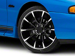 2011 GT/CS Style Black Machined Wheel - 19x8.5 (94-04 All)