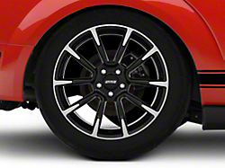 2011 GT/CS Style Black Machined Wheel - 19x10 (05-14 All)