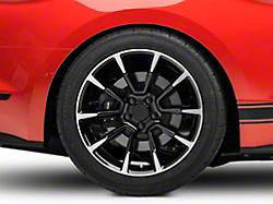 2011 GT/CS Style Black Machined Wheel - 19x10 (2015 All)