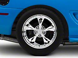 Bullitt Motorsport Chrome Wheel - 18x10 (94-04 All)