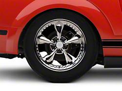 Bullitt Motorsport Chrome Wheel - 18x10 (05-14 GT, V6)